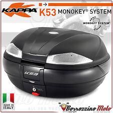KAPPA K53 TECH MONOKEY SYSTEM MOTORCYCLE TOP-CASE BOX 53 LTR GIVI E55 STYLE K53N