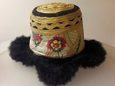 Lama Mütze aus Tibet-Nepal (Lama hat)