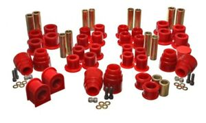 Energy Suspension 4.18120R Hyper-Flex System; Red For 00-04 Ford Excursion NEW