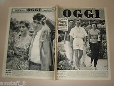 OGGI=1957/26=REZA PAHLAVI=SORAYA=ROBECCO=ROGHUDI=GLORIA O'BANION=LUIGI BARTOLINI