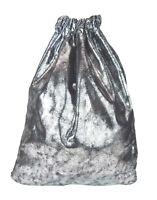 bf3773f18d Gym Bag Silver Black Metallic Ella Jonte Gym Bag Gym Bag Hip Viscose Pouch