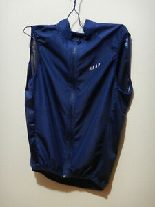 Maap Gilet Vest size small mens cycling Blue