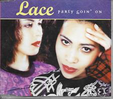 LACE - Party goin' on CDM 5TR Europop Pop Rap Euro House 1999 Skandinavia