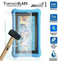 """2 x Tempered Glass Screen Protector For Amazon Kindle Fire Kids Edition 7"""" 2017"""