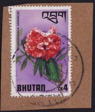 BHUTAN stamp on piece @PM015