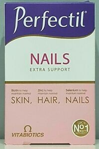 Vitabiotics Perfectil Hair Extra Support 60 Tablets 1 Month Supply New & Sealed