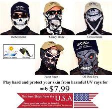 Scarf Men Skulls UV Head Wear Neck Gaiter Warm Balaclava Cyclist Under Helmet