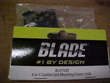 BLADE HELICOPTER PART - BLH7539 = 4-IN-1 CONTROL UNIT MOUNTING FRAME : mQX (NEW)