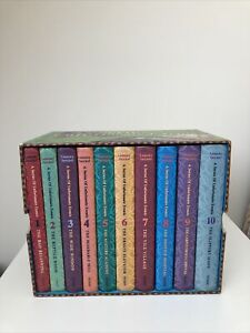 A Series Of Unfortunate Events Books Box Set 1-10 Lemony Snicket