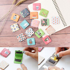 1Pc Cartoon Magnetic Bookmarks Note With Memo Pad Stationery Book Mark@HLA
