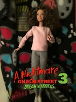NIGHTMARE ON ELM STREET 3 Dream Warriors Nancy Thompson CUSTOM HORROR DOLL OOAK