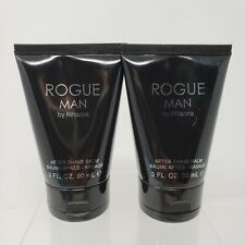 Lot of 2 Rogue Man By Rihanna After Shave Balm 3 fl oz 90% Full
