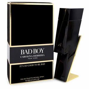 Bad Boy Men's Cologne by Carolina Herrera 3.4oz/100ml Eau De Toilette Spray