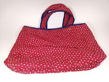 Better Homes & Gardens Multi Color Double Wedding Ring Quilt Tote Bag Only