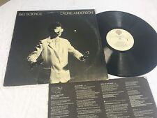 LAURIE ANDERSON - BIG SCIENCE - 1982 WARNER BROS RECORDS ROCK LP