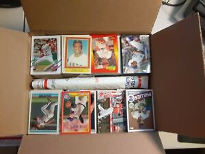 MEDIUM FLAT RATE Box full of Baseball Cards - Over 2,500 Cards! Great for Kids