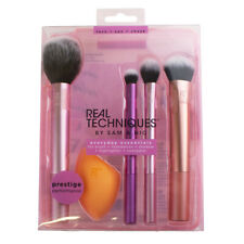 New Real Techniques Everyday Essentials Complete Make Up Face Brush Set