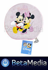 Disney Minnie Mouse CD / DVD Tin Storage Wallet Case Holds 24 discs