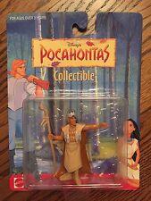 DISNEY'S POCAHONTAS MATTEL Mini Collectible Action Figurine Toy CHIEF POWHATAN