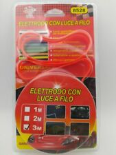 Interni Auto Striscia LED Luce Decorativa Atmosfera Filo 3mt Rosso awe