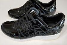 ASICS Tiger GEL Lyte III  Men's Black Trail Running Shoes Sneakers Size 9 NIB