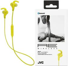 JVC HAET50BTY YELLOW AE Wireless Bluetooth Headset with Fit Motion Fit BRAND NEW