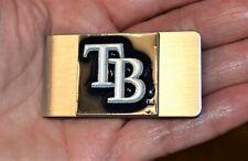 Tampa Bay Rays 2007 Silver Tone Enamel Money Clip Baseball Fan Apparel Souvenirs