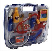 Kids Children's Blue Doctors Medical Set Nurses Hospital  Infant Baby Toy Gift