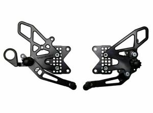 VORTEX V2 Rearsets - BMW  S1000RR Rear Sets Pegs S1000R HP4 2009 - 2014  RS188K