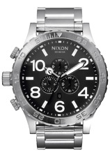 Nixon 51-30 Chrono Watch Black A083-000 NEW IN BOX