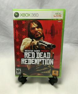 Red Dead Redemption (Microsoft Xbox 360, 2010) Regular Version - New & Sealed