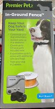 Premier Pet In-Ground Fence w/ Waterproof Receiver Collar Brand New