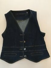 SUPERBE GILET JEAN SUD EXPRESS TAILLE 38 RARE