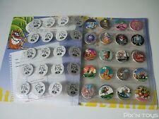 Série complète Pog série 2 100/100 + Album / WPF Pogs officiel