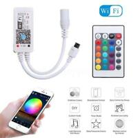 Mini Bluetooth/WiFi LED Controller+IR Remote For RGB/RGBW LED Strip Light