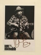 ICICLE WORKS IAN MCNABB AUTOGRAPH SIGNED 4X6 PRESS PHOTO