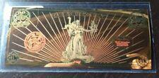 1/10 gram Gold Note Apmex Valaurum 2018 Lady Liberty 24K 0.1G 0.999 Fine