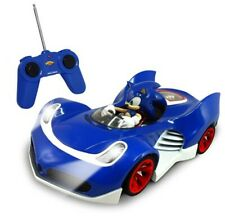 SONIC THE HEDGEHOG WITH LIGHTS RADIO REMOTE CONTROL CAR 2.4 GHZ BY NKOK 614