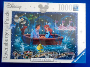 Ariel - Disney 1000 Piece Ravensburger Collector's Jigsaw Puzzle New & Sealed