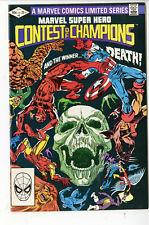 Marvel Super Hero Contest of Champions #3 (Marvel 1982)