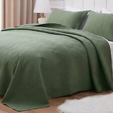 Quilt Set Comforter Bedding Cover Microfiber Bedspread Coverlet All Season Use