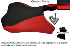 RED & BLACK CUSTOM FITS KAWASAKI Z1000 10-13 FRONT RIDER SEAT COVER