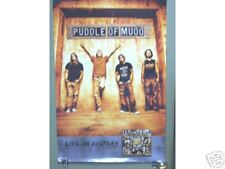 Puddle Of Mudd - Life On Display - Promo Poster [2003] Vg+