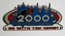 Disney WDW MGM Studios On With The Show! 2000 Mickey Mouse Silhouette Shadow Pin