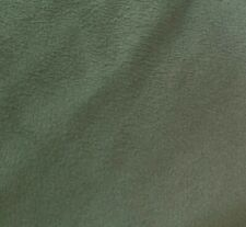 Micro Suede solid fabric, Olive Green color, by the yard