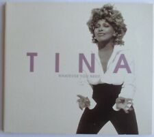 "TINA TURNER - PROMO SINGLE CD ""WHATEVER YOU NEED"""