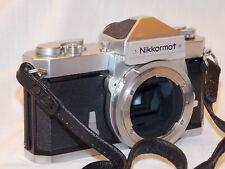 NIKON Nikkomat FTN 35mm SLR Film Camera Body w/ new light seal