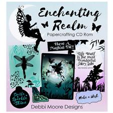 Debbi Moore Designs Enchanting Realm Papercrafting CD Rom (328628)