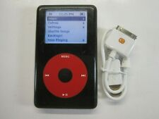 Apple iPod classic 4th Gen U2 Special Edition Black/Red (20 GB)(New Battery)