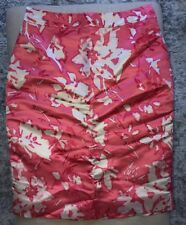 Kate Spade Madison Avenue Collection Silk Skirt Sz 8